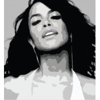 Paint a Legend - Aaliyah